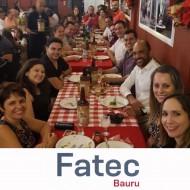 Confraternização dos funcionários da FATEC Bauru