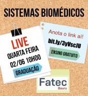Live do curso de Sistemas Biomédicos