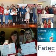 A FATEC Bauru recebe prêmio da 11ª FETEPS