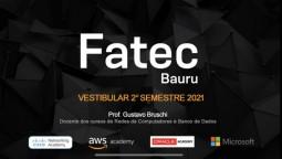 A FATEC Bauru possui parcerias com as maiores fabricantes de tecnologia