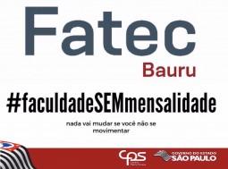 Portadores de diploma de graduação ou alunos que desejam transferência para a FATEC Bauru.