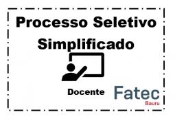 Processo Seletivo Simplificado - 196/09/2021