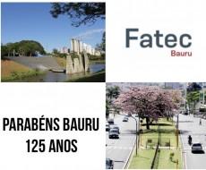 Parabéns Bauru pelos 125 anos!