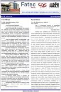 20o. Boletim Informativo da FATEC Bauru